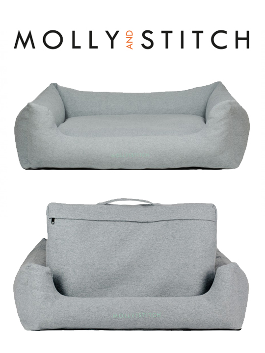 "Molly & Stitch Dog Bed ""Sweet Dreams"""