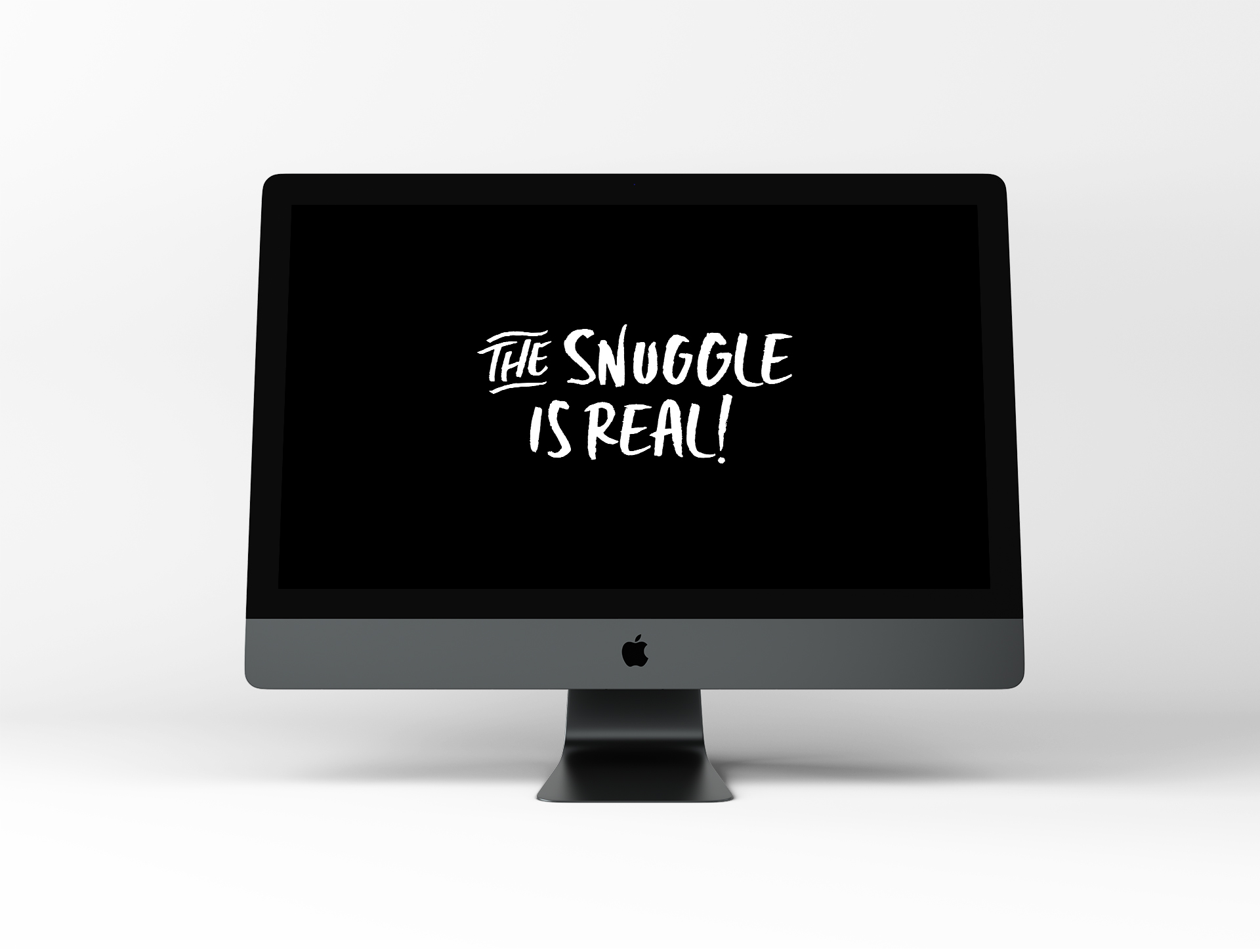 The Snuggle is Real – Dog Wallpaper by Disruptive Dog