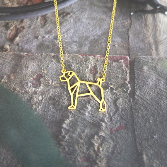 Jack Russell Geometric Jewellery by Glorikami